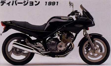 Yamaha XJ400S Diversion (1991)